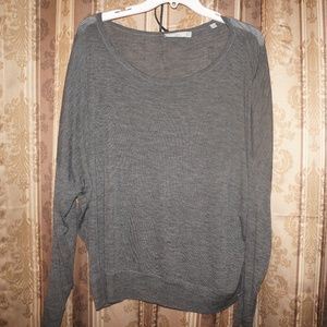 Vince Gray Sweater Large